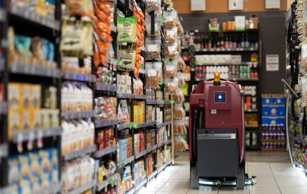 robot floor scrubber
